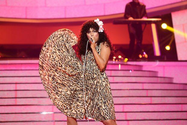 'Tu cara me suena': Cristina Ramos vence con una gran imitación de Donna Summer