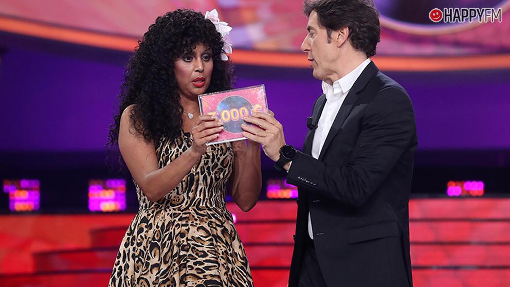 Cristina Ramos gana la tercera gala de Tu cara me suena