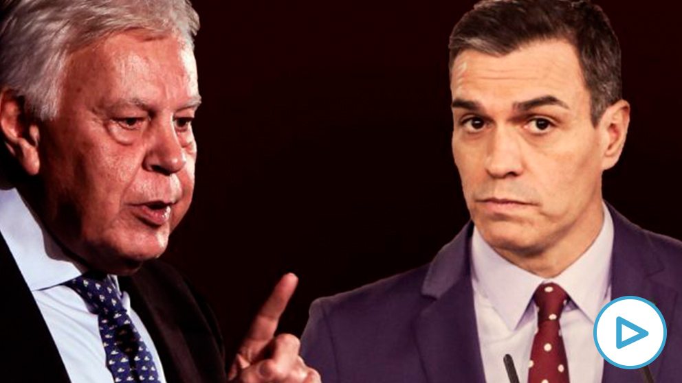 Felipe González y Pedro Sánchez