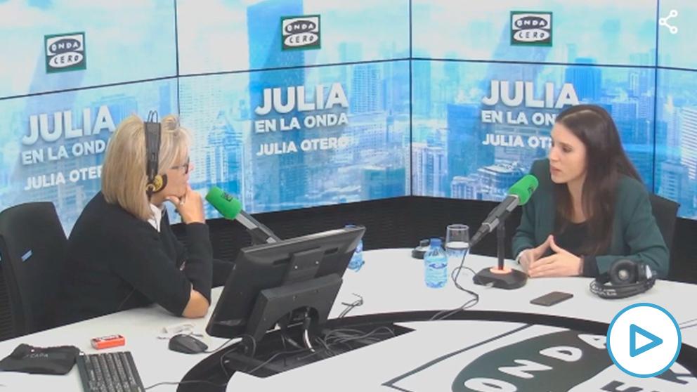 Irene Montero sobre el caso de las niñas prostituidas en Mallorca: «Hay otros Ministerios implicados».