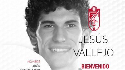Jesús Vallejo, nuevo jugador del Granada. (Granada Club de Fútbol)