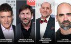 Los cuatro actores nominados en los Premios Goya 2020.