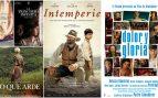 Las cinco películas nominadas a mejor película en los Premios Goya 2020.