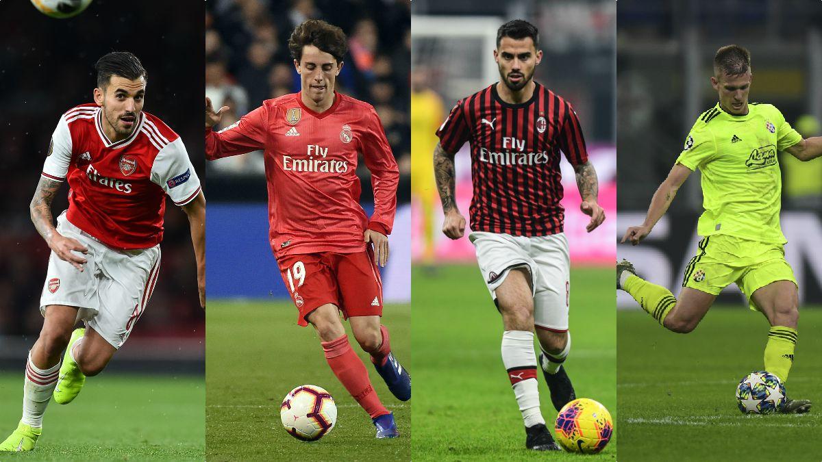 Ceballos, Odriozola, Suso o Dani Olmo, los internacionales que cambiarán de equipo en el mercado.