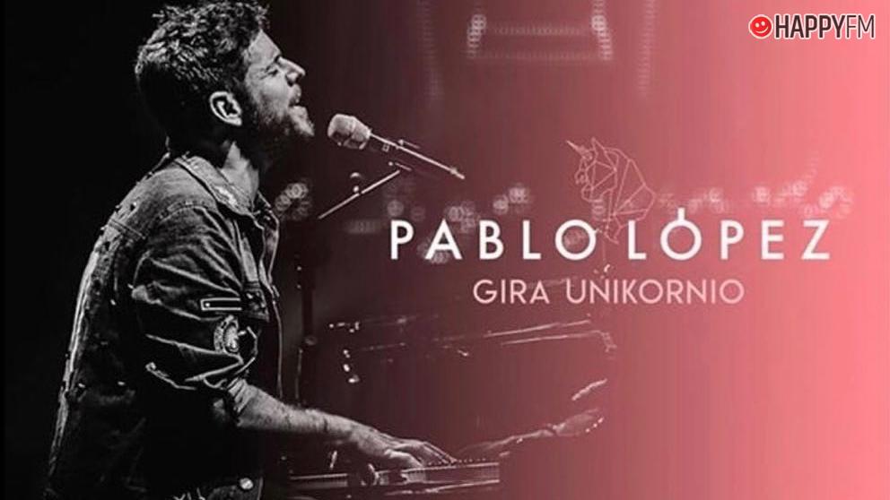Pablo López presenta la gira Unikornio