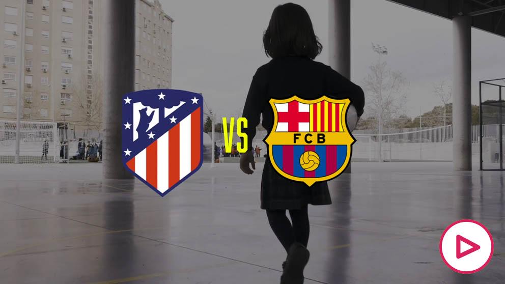 El vídeo promocional más emotivo del Atlético de Madrid – Barcelona femenino.