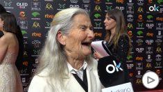 Benedicta Sánchez, Goya a Mejor Actriz Revelación