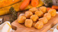 Croquetas de zanahoria al curry