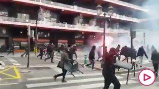 pelea ultras