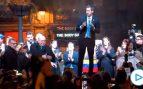 Guaidó aclamado por miles de venezolanos en Madrid: «¡Vamos a ser libres muy pronto!»