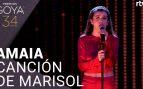 Amaia homenajea a Pepa Flores en la gala de los Premios Goya 2020