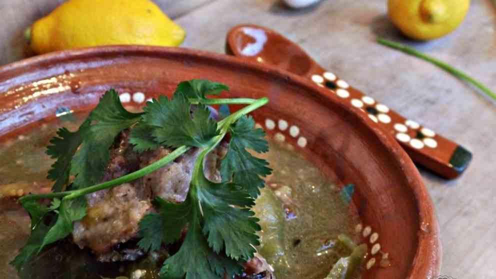 Receta De Costillas De Cerdo En Salsa Verde