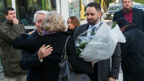 Santiago Abascal hoy en el homenaje a Gregorio Ordóñez. (EP)