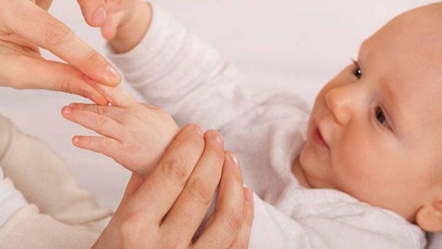 shiatsu para bebés