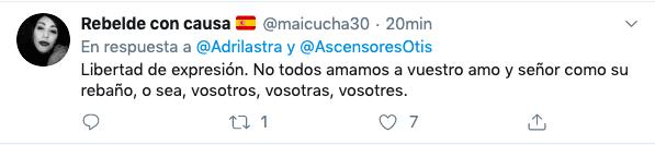Lastra lanza una cacería contra una empresa privada por burlarse de Sánchez
