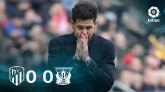 El Atlético no pudo pasar del empate contra el Leganés.
