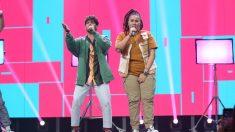 El i y Rafa durante su actuación en 'OT 2020'