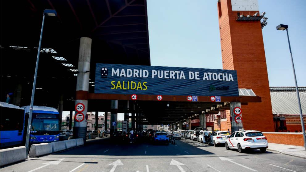 Entrada de la Estación de Atocha