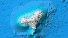 Localización de los cuatro terremotos registrados en El Hierro. (IGN)