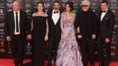 40 minutos para recorrer la alfombra roja de los Goya 2020_ ¿cuánto medía