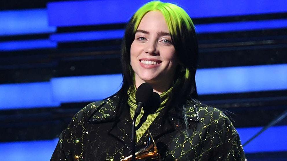 Billie Eilish arrasa en los Grammy 2020 con la sombra de la muerte de Kobe Bryant