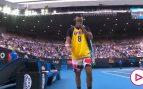 El homenaje de Kyrgios a Kobe Bryant antes del enfrentamiento con Nadal