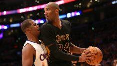 Kobe Bryant, en un partido ante los Clippers. (Getty)