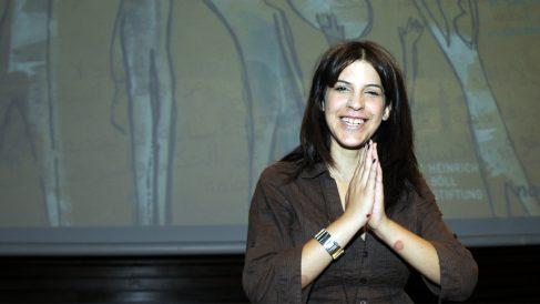 Lina Ben Mhenni (Foto: AFP)