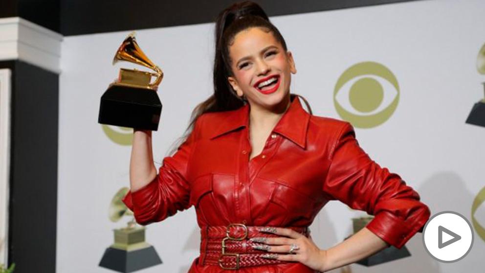 Rosalía gana un Grammy por la canción 'El mal querer'. Foto EP