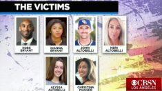 Seis de las víctimas identificadas en el accidente de helicóptero.