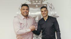 Ronaldo Nazario y Hatem Ben Arfa. (Real Valladolid)
