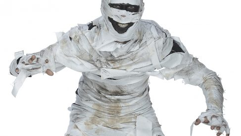 Un disfraz de momia es un gran acierto en Carnaval