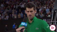Djokovic se emociona recordando a Kobe Bryant.