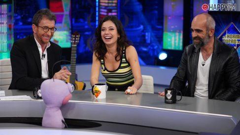Luis Tosar y Anna Castillo en 'El Hormiguero'