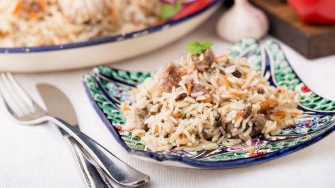 risotto de cordero