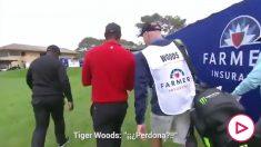 Tiger Woods, al enterarse de la muerte de Kobe Bryant.