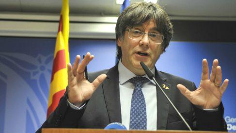 Carles Puigdemont, ex presidente de la Generalitat fugado en Bélgica. (Foto: Europa Press)