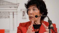 La ministra de Educación y Formación Profesional, Isabel Celaá. Foto: EFE