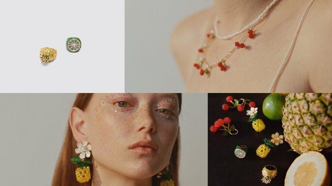 colección de joyas de frutas de Zara