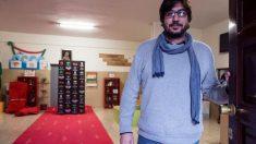 La alfombra roja de los Goya acaba en la basura y un profesor la rescata