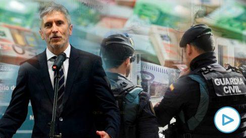 El ministro del Interior, Fernando Grande-Marlaska, ya prepara la 'pasarela' para la Guardia Civil de Navarra.