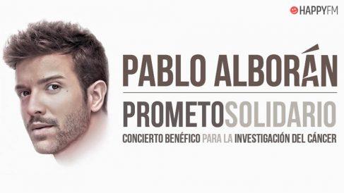 Pablo Alborán vende todas las entradas de su concierto más solidario