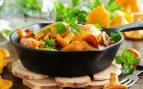Receta de shiitake salteadas con verduras y salsa de soja