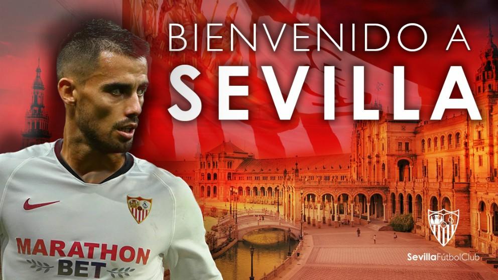 El Sevilla anuncia el fichaje de Suso. (sevillafc.es)