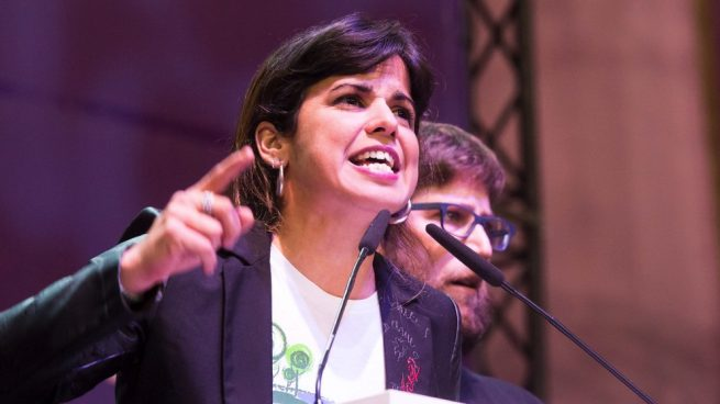 Teresa Rodríguez en Vistalegre 2. (Foto. Podemos)