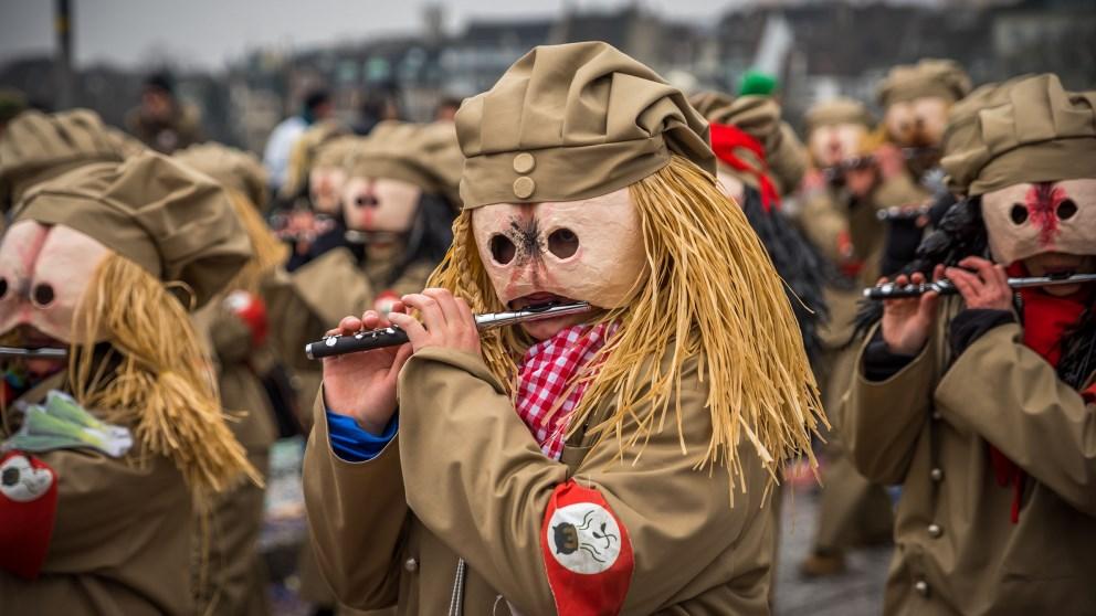 El Carnaval de Basilea dura exactamente 72 horas
