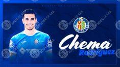 Chema Rodríguez, nuevo fichaje del Getafe. (Getafe Club de Fútbol)