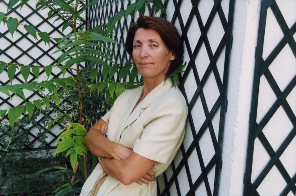 Marina Picasso en julio de 2001 en Francia. @Getty