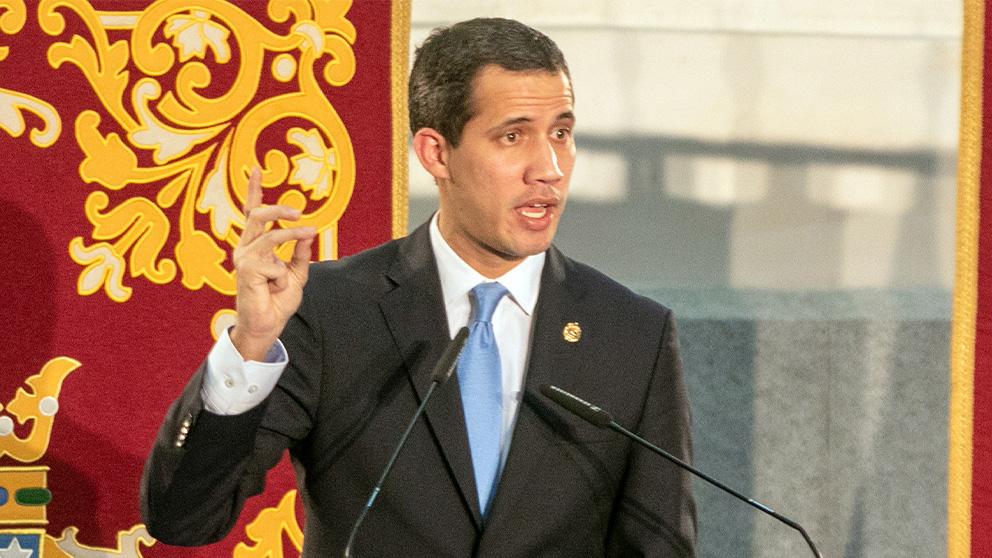 Juan Guaidó. (Foto: Enrique Falcón)