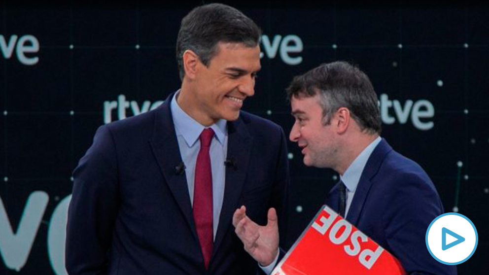Pedro Sánchez e Iván Redondo. (Foto. PSOE)